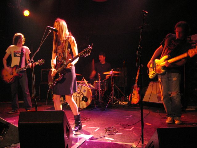 Joe Keefe, Juliana Hatfield, Pete Caldes, Ed Valauskas